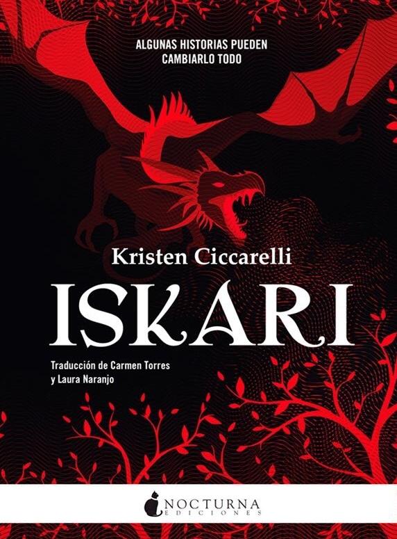 Resultado de imagen de Iskari (primera parte de la saga), Kristen Ciccarelli